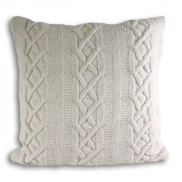 Aran Cream Cushion