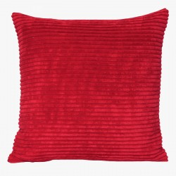 Corduroy Red Cushion