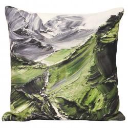 Everest Green Cushion