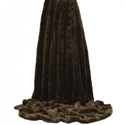 Empress Chocolate Throw