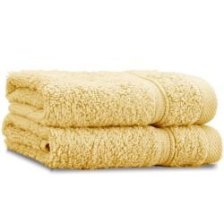 Zero Twist Ochre Towel