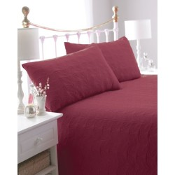 Leaf Red Bedspread
