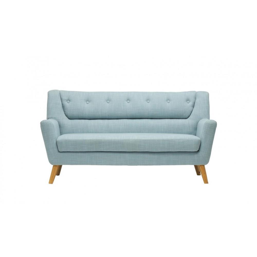 Lambeth Duck Egg Blue Large Sofa
