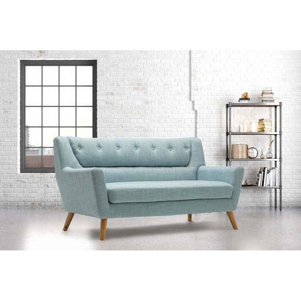 Lambeth Duck Egg Blue Large Sofa