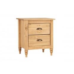 Pembroke 2 Drawer Bedside Cabinet
