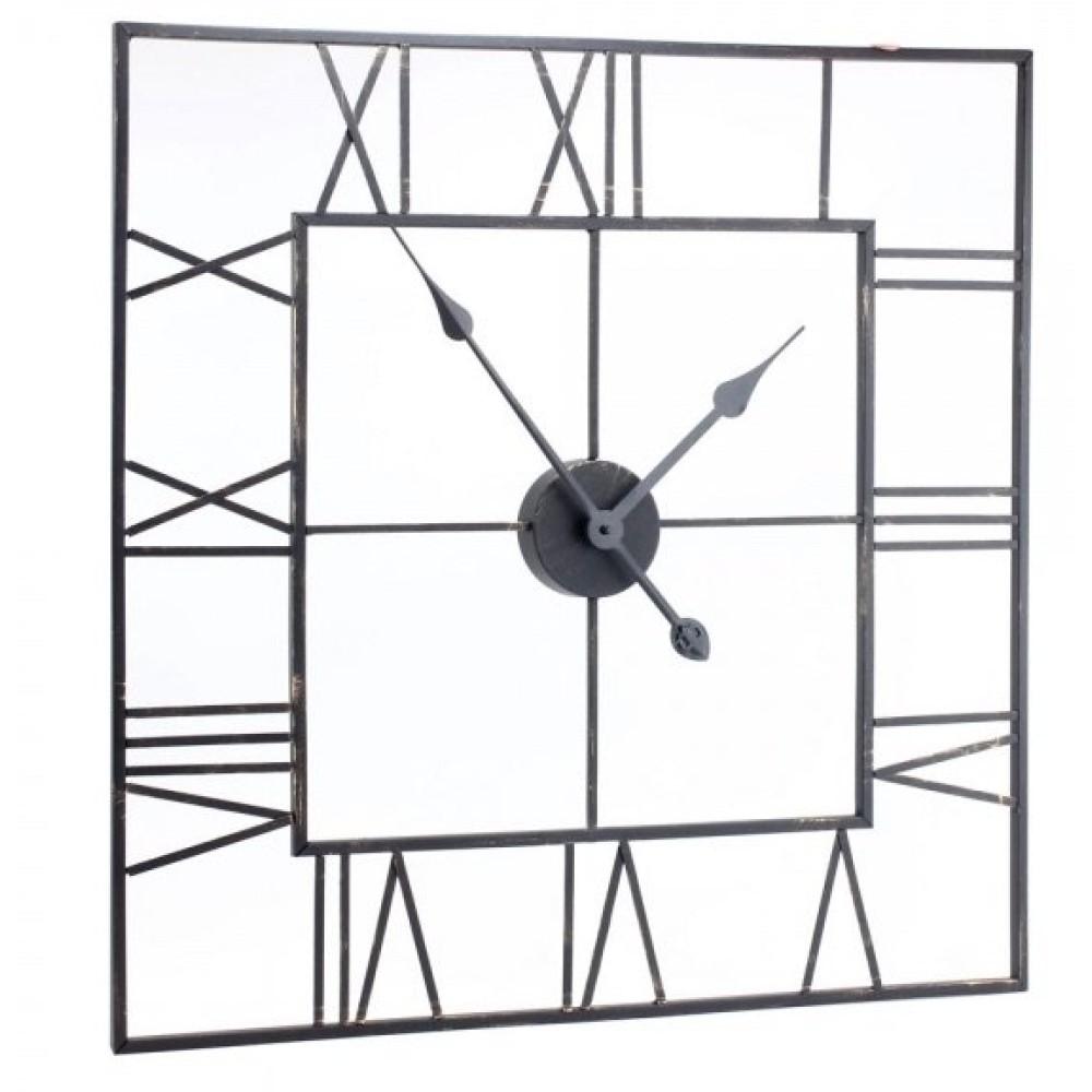 Square Skeleton Clock