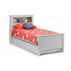 Maine Grey Bookcase Bed
