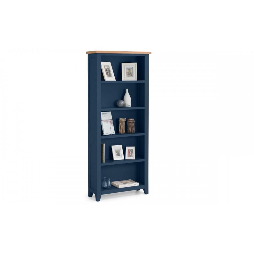 Z Gallerie Bedroom Furniture Bedroom Tv Cabinet Modern Bedroom Bookshelves Elegant Bedroom Furniture: Richmond Blue Tall Bookcase