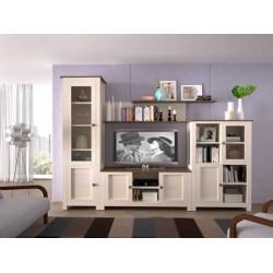 Baku Cream 2 Door 1 Shelf TV Unit