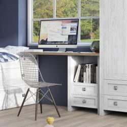 Baku Grey 2 Drawer Desk