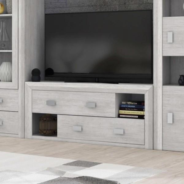 Dado Grey 2 Drawer TV Unit