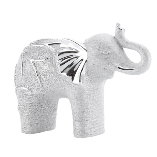 Contemporary Silver Elephant
