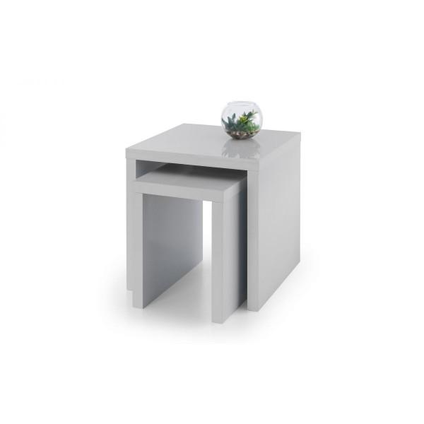 Metro Grey Nest of Tables