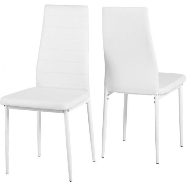 Abbey White Dining Chair