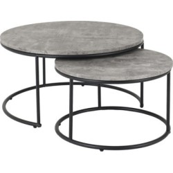Athens Round Coffee Table Set