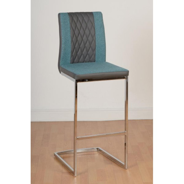 Sienna Teal Bar Chair