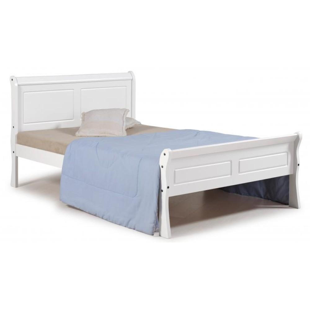 - Georgia White Sleigh Bed