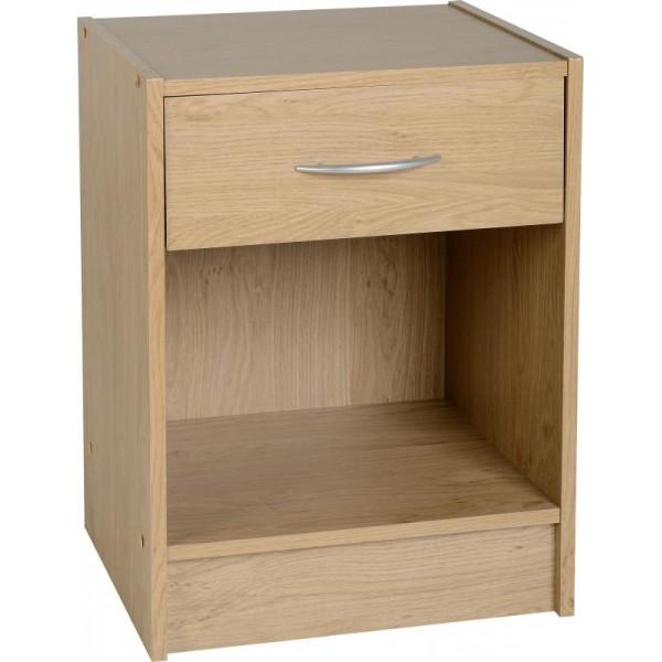 Bellingham 1 Drawer Bedside Cabinet
