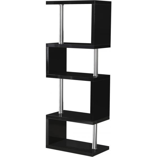 Charisma Black 5 Shelf Unit