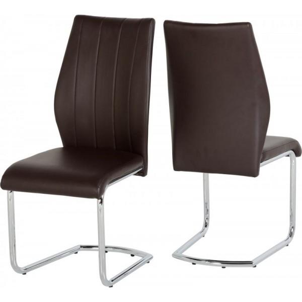 Milan Brown Dining Chair
