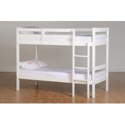 Panama White Bunnk Bed