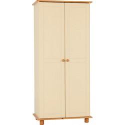 Sol Cream 2 Door Wardrobe
