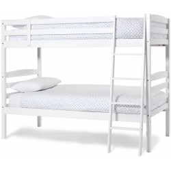Brooke White Bunk Bed