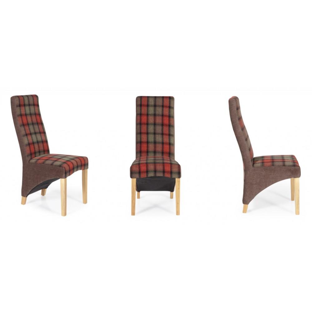 Hammersmith Tartan Dining Chair
