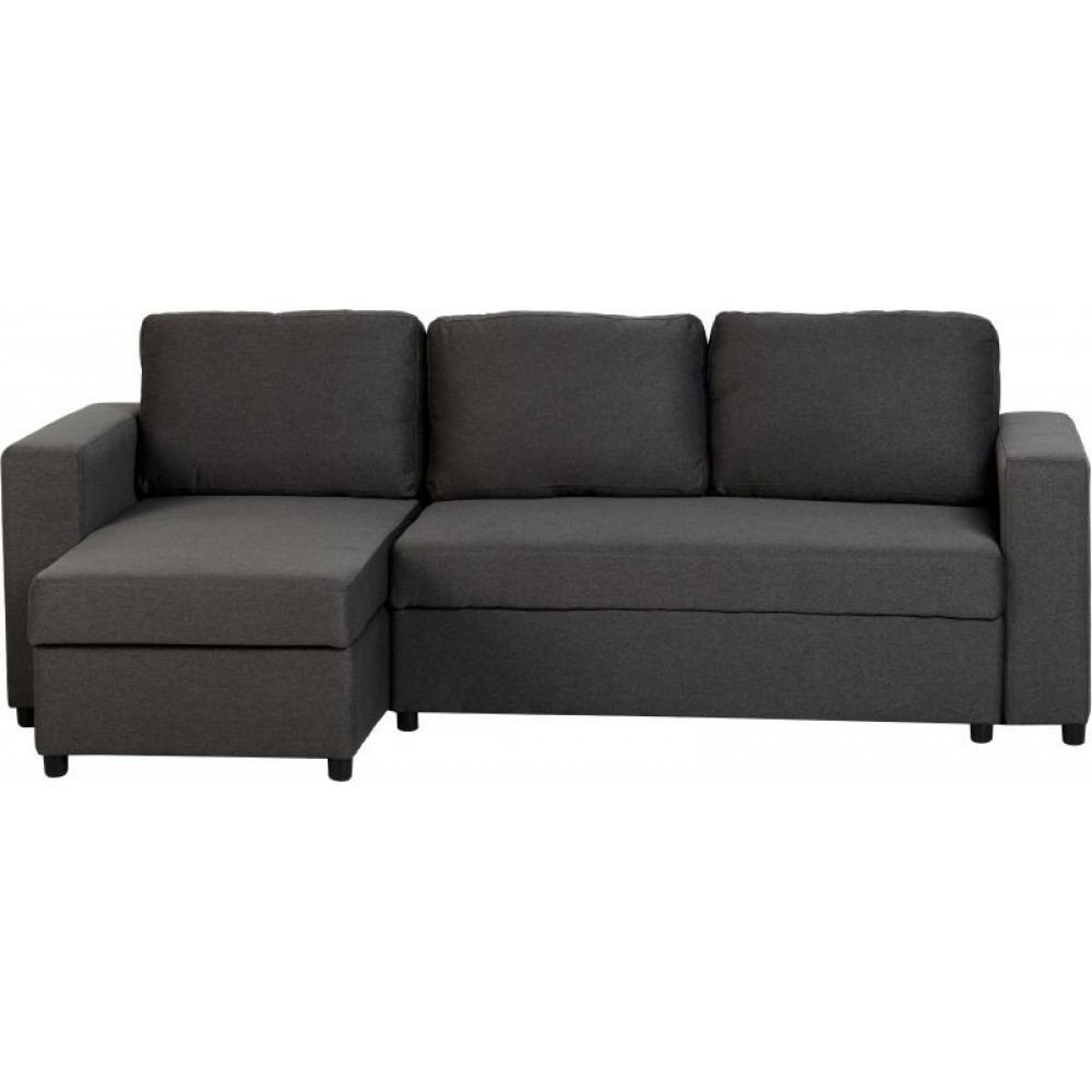 Dora corner sofa bed in grey for Sofa bed grey