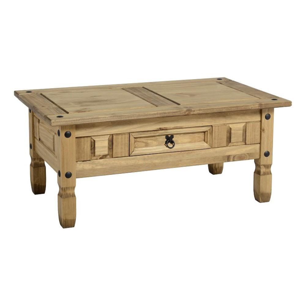 Buy Coffee Table With Drawers: Corona 1 Drawer Coffee Table