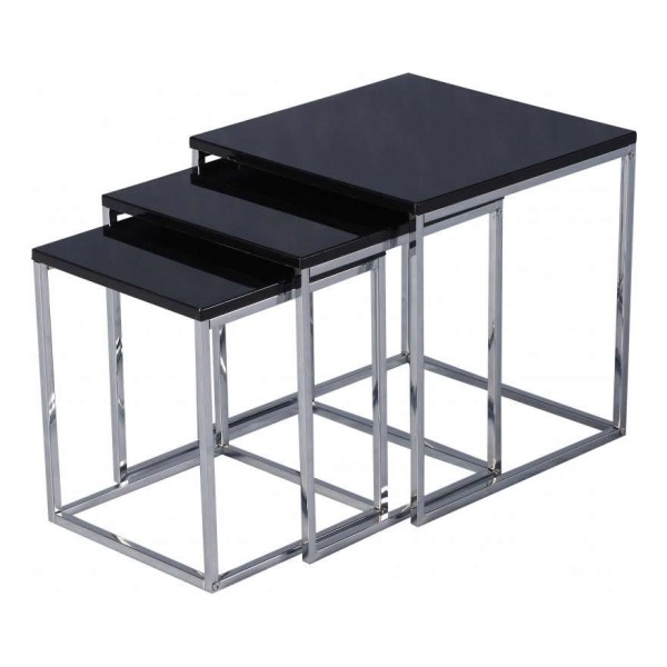 Charisma Nest of Tables Black
