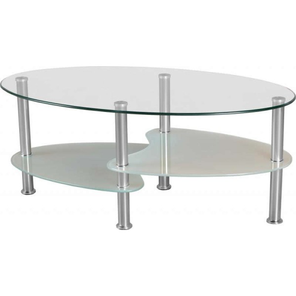 Cara Clear Coffee Table